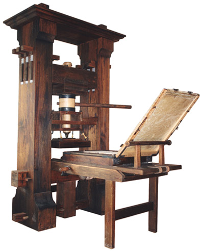 First Printing Press (Replica)